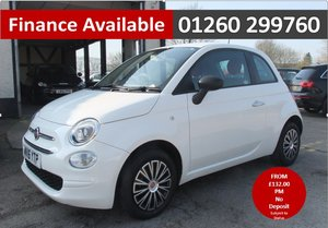 2016 FIAT 500 1.2 POP 3DR WHITE SOLD