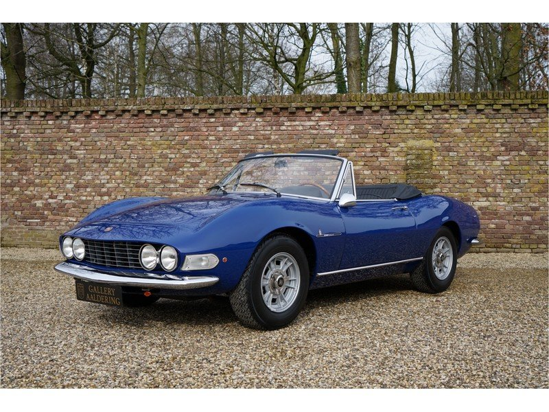 1967 Fiat Dino Spider 2000 with only 81000 km from new For Sale (picture 1 of 6)