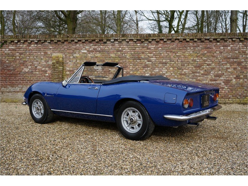 1967 Fiat Dino Spider 2000 with only 81000 km from new For Sale (picture 2 of 6)