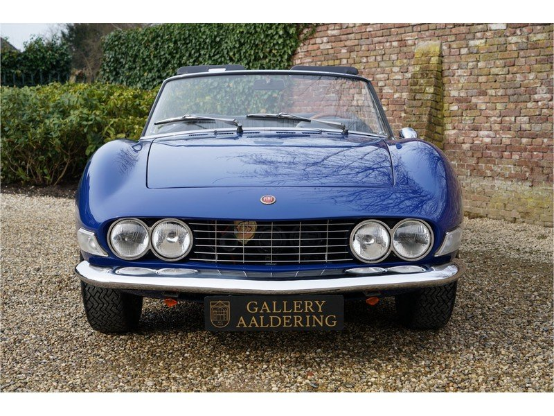 1967 Fiat Dino Spider 2000 with only 81000 km from new For Sale (picture 3 of 6)