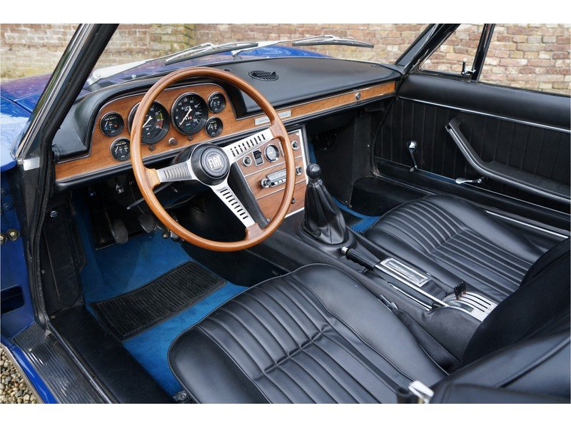 1967 Fiat Dino Spider 2000 with only 81000 km from new For Sale (picture 5 of 6)