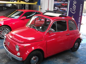 1972 Fiat 500L. Good solid bodywork For Sale