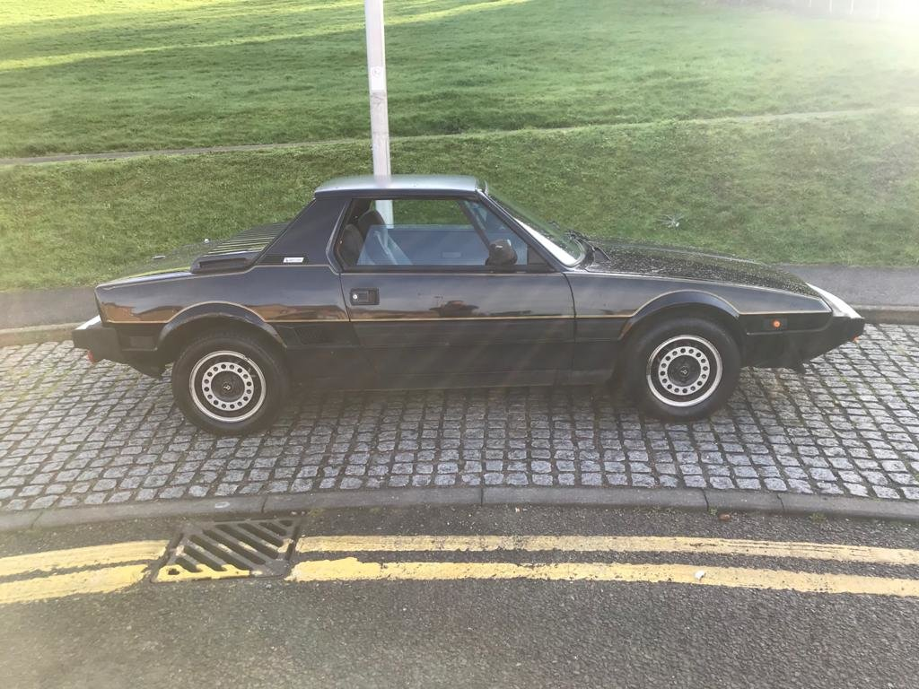 1988 Fiat X1/9 for Auction 16th - 17th July SOLD by Auction (picture 5 of 6)