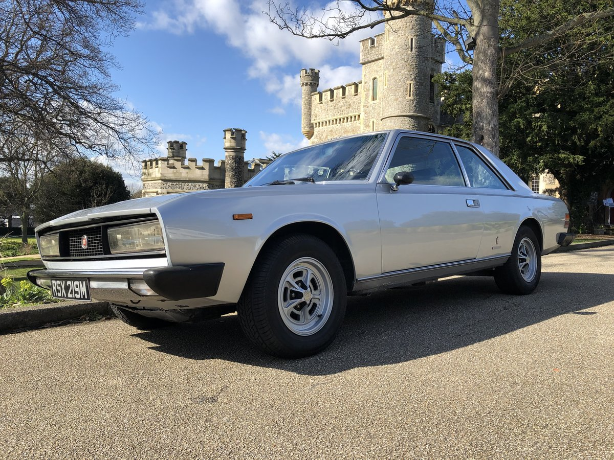 1974 Classic Fiat 130 Coupe 3.2 Auto  For Sale (picture 1 of 6)