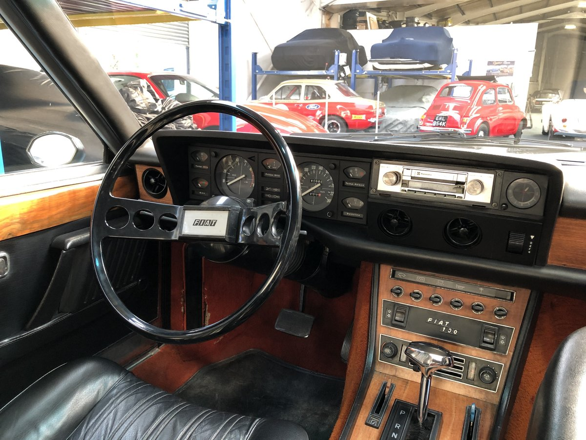 1974 Classic Fiat 130 Coupe 3.2 Auto  For Sale (picture 5 of 6)