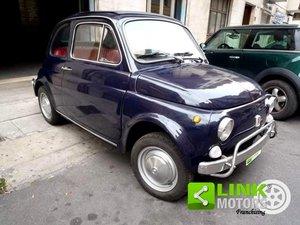 FIAT 500L BLU SCURO (1970) RESTAURATA For Sale