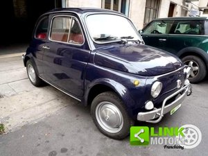 FIAT 500L BLU SCURO (1970) RESTAURATA For Sale