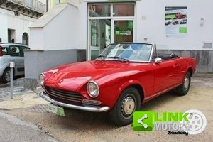 1968 Fiat 124 Spider I° serie 1.400 PERFETTA!!! For Sale