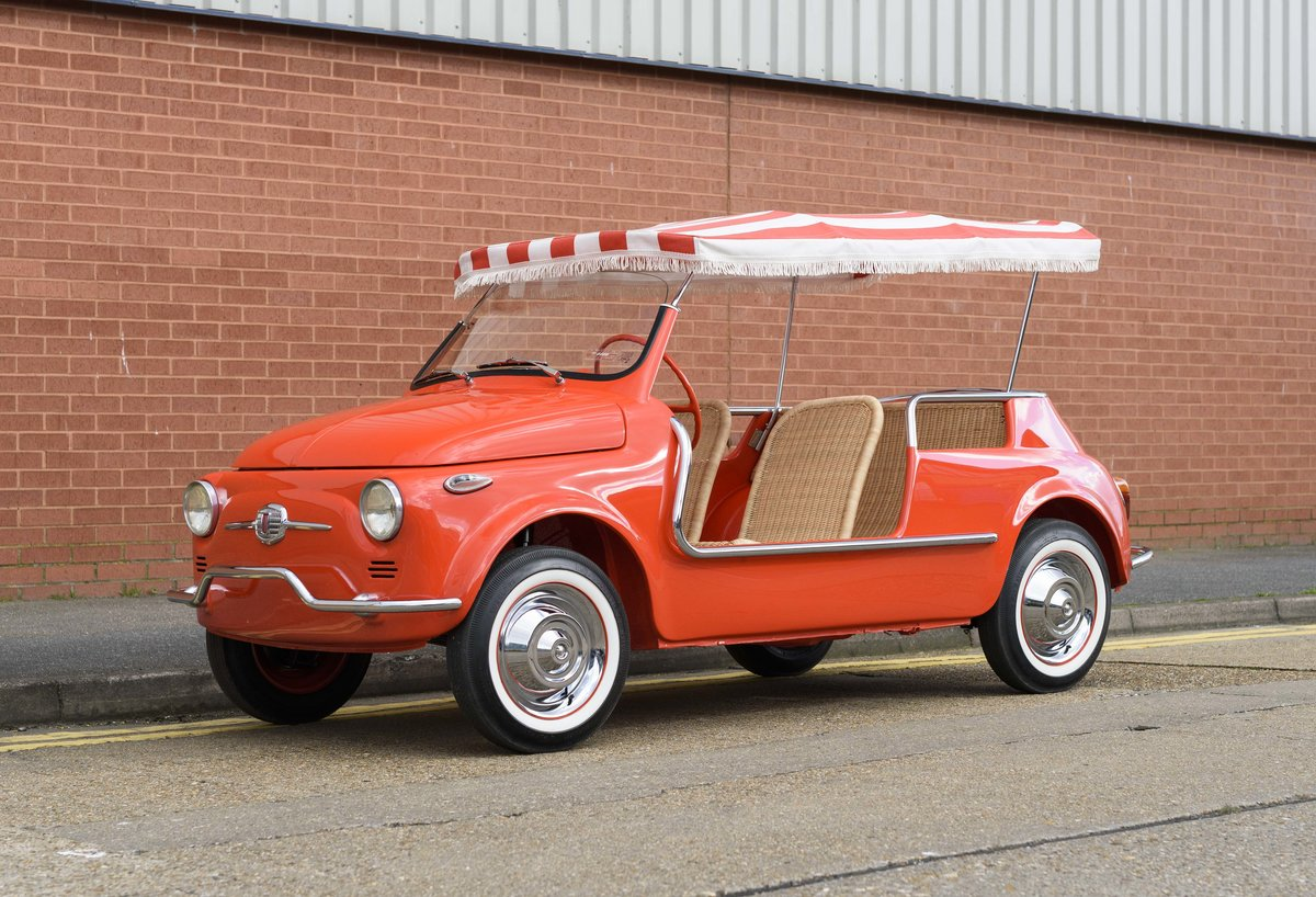 1967 Fiat 500 Jolly (LHD) For Sale (picture 1 of 22)