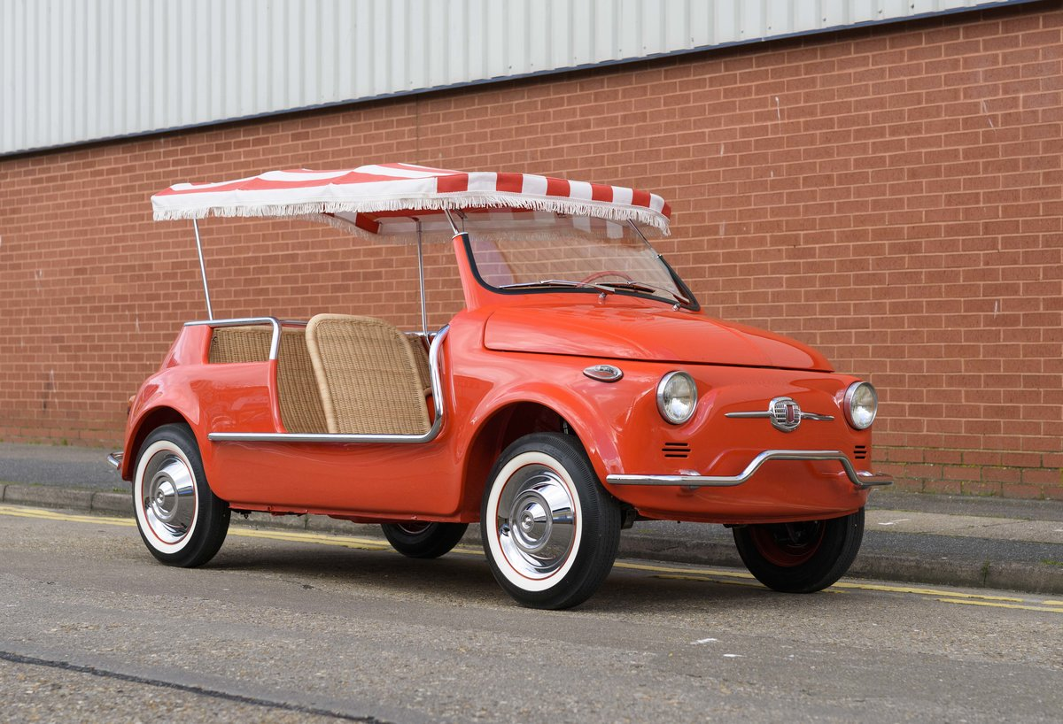 1967 Fiat 500 Jolly (LHD) For Sale (picture 2 of 22)