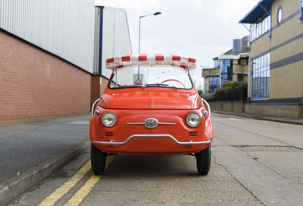 1967 Fiat 500 Jolly (LHD) For Sale (picture 7 of 22)