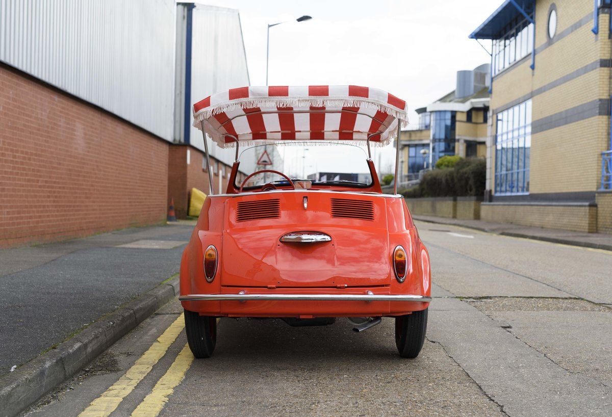 1967 Fiat 500 Jolly (LHD) For Sale (picture 8 of 22)