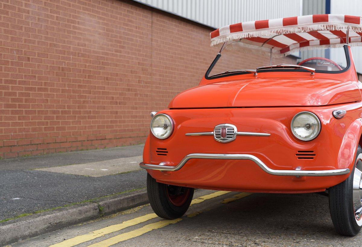 1967 Fiat 500 Jolly (LHD) For Sale (picture 9 of 22)