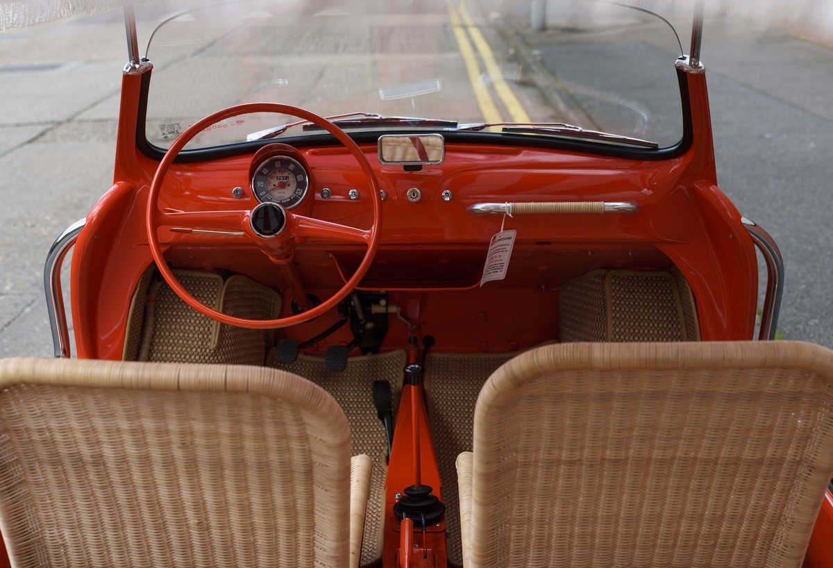 1967 Fiat 500 Jolly (LHD) For Sale (picture 13 of 22)