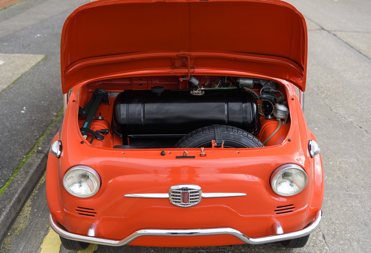 1967 Fiat 500 Jolly (LHD) For Sale (picture 20 of 22)