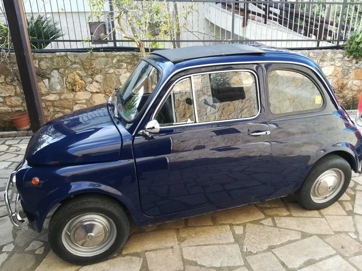 1970 - Fiat 500 L - Dark Blue For Sale (picture 1 of 10)