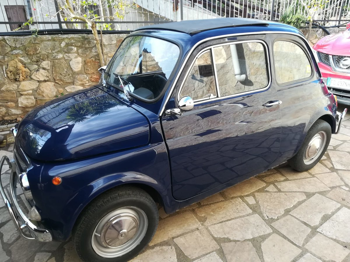 1970 - Fiat 500 L - Dark Blue For Sale (picture 2 of 10)