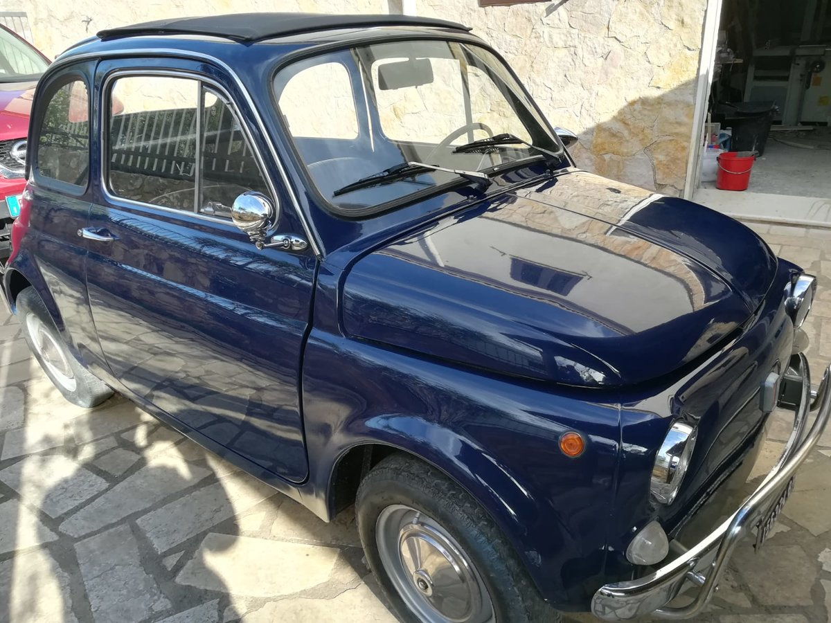 1970 - Fiat 500 L - Dark Blue For Sale (picture 3 of 10)