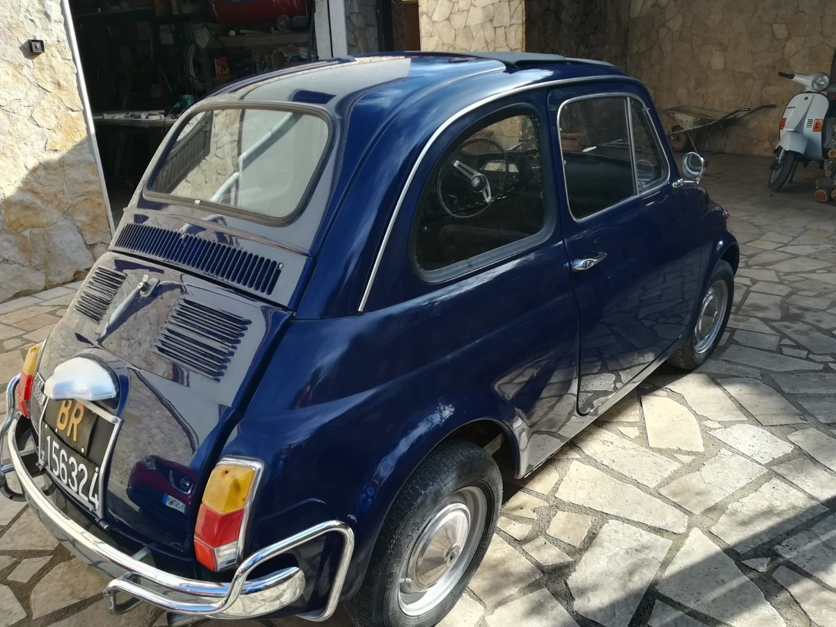 1970 - Fiat 500 L - Dark Blue For Sale (picture 5 of 10)
