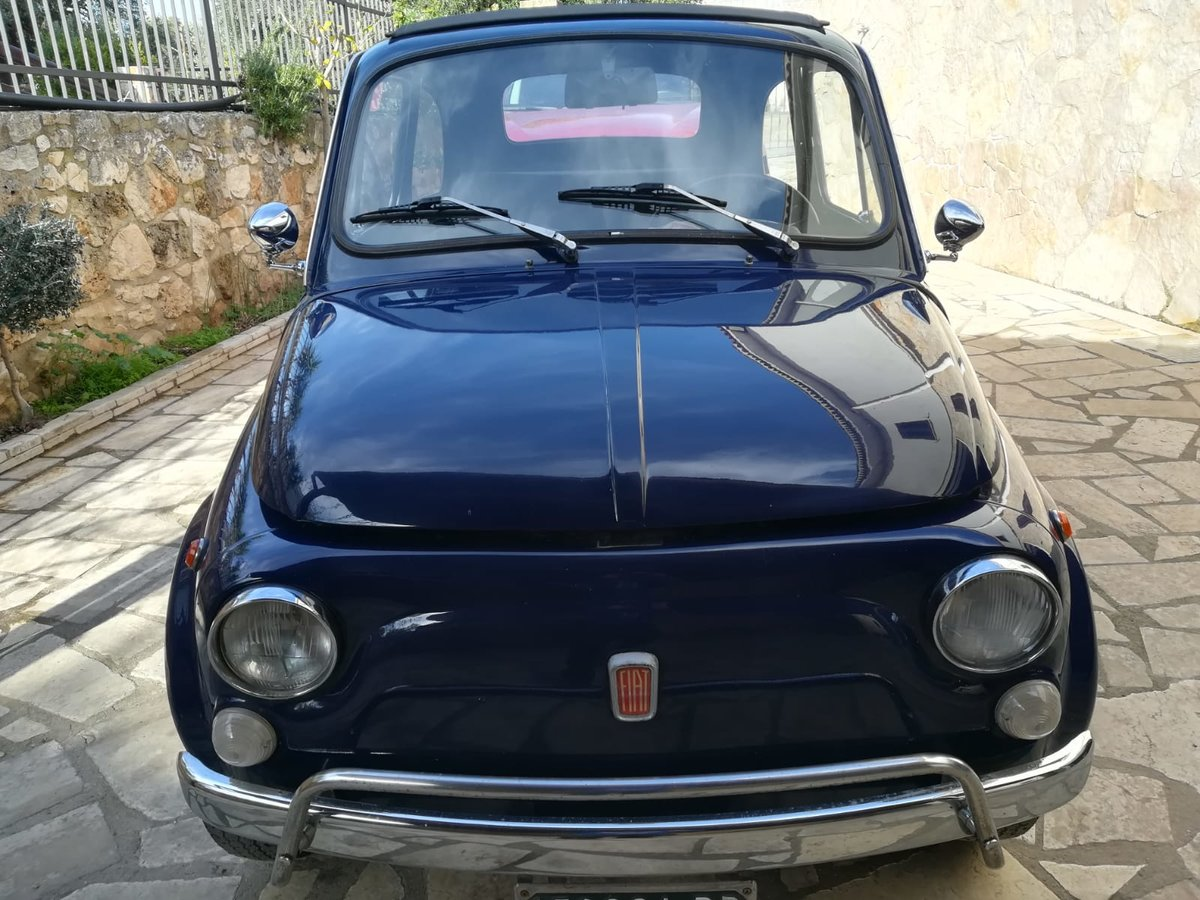 1970 - Fiat 500 L - Dark Blue For Sale (picture 6 of 10)
