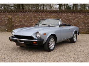 1984 Fiat 124 Pininfarina Spider 2.0 with only 4965 Miles from ne