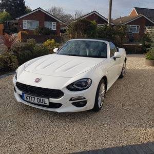 2017 Fiat 124 spider lusso Px swap classic cash either