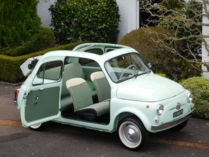 Fiat 500D Trasformabile 1964 LHD Italy / Concours Restored!