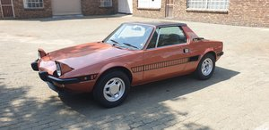 1978 Fiat X19 Special Series original stored 30 ye