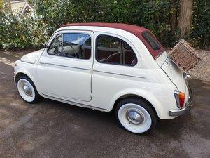 1961 Fiat 500D 500 D Suicide Door Restored