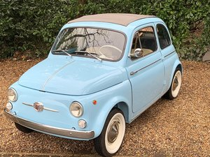 1965 Fiat 500D 500 D Suicide Doors