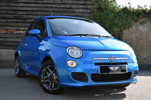 2014 Fiat 500 1.2 S Dualogic Low Mileage+FSH+RAC Approved