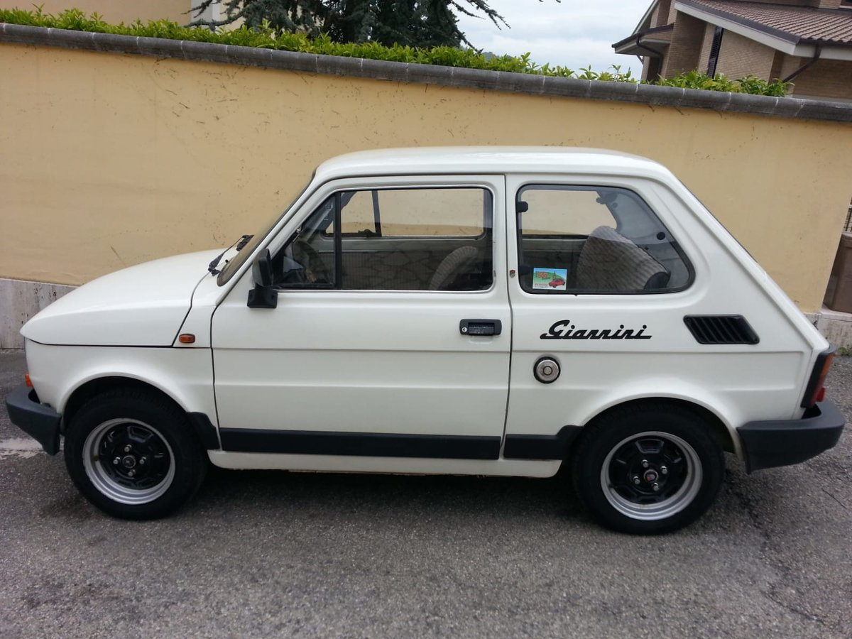 1986 Fiat 126 Giannini For Sale (picture 1 of 6)