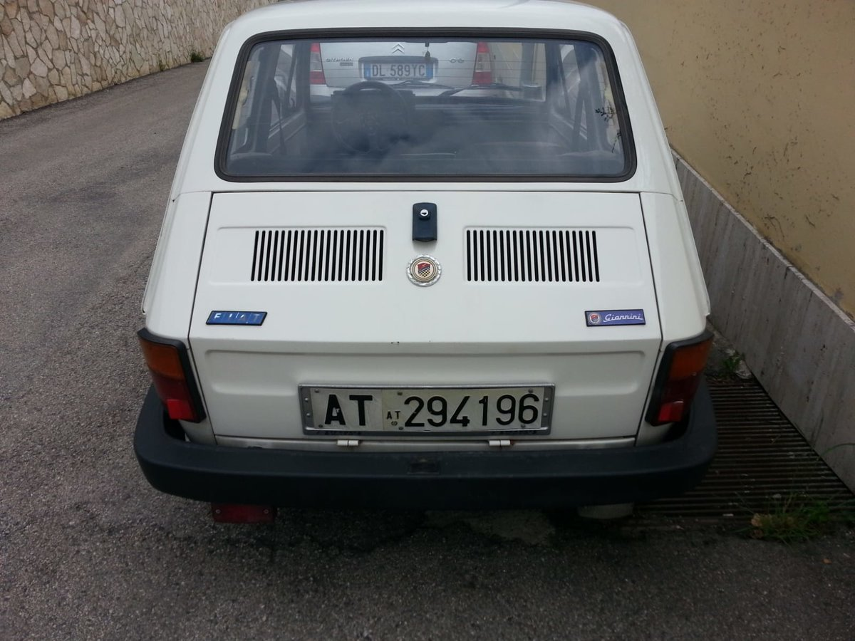 1986 Fiat 126 Giannini For Sale (picture 6 of 6)