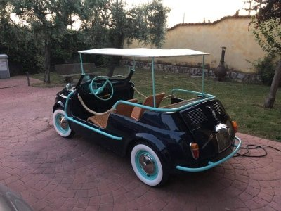 1970 Fiat 500 Jolly Beach reconstructed on request For Sale (picture 4 of 5)