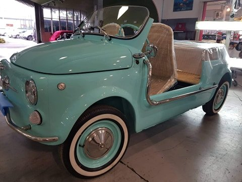 1970 Fiat 500 Jolly Beach reconstructed on request For Sale (picture 5 of 5)