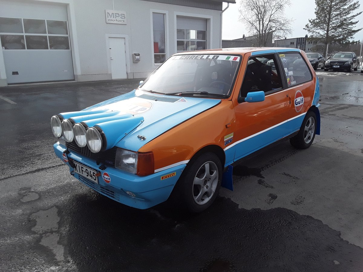 1988 Fiat Uno Turbo Group A Histiric J1 For Sale (picture 1 of 6)