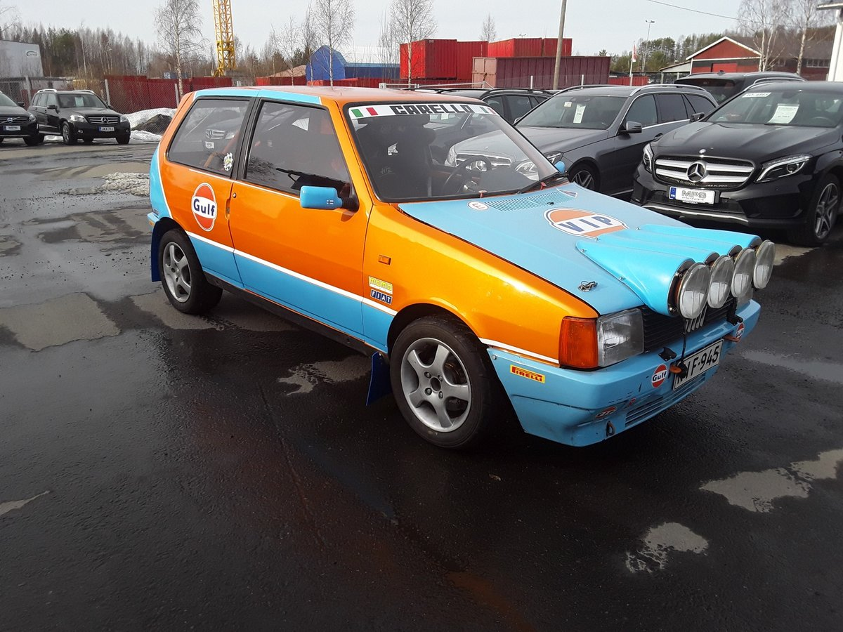 1988 Fiat Uno Turbo Group A Histiric J1 For Sale (picture 2 of 6)