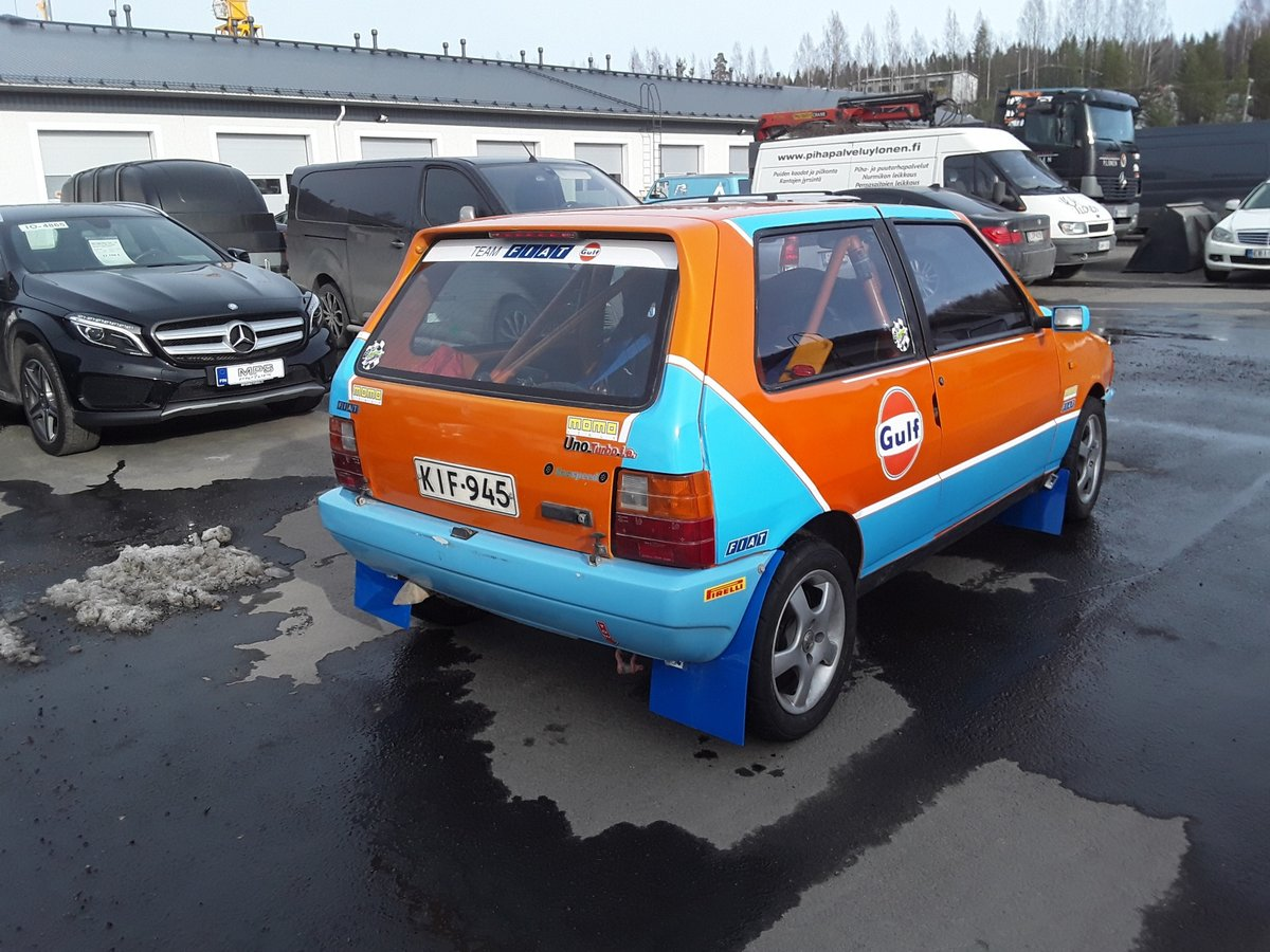 1988 Fiat Uno Turbo Group A Histiric J1 For Sale (picture 3 of 6)