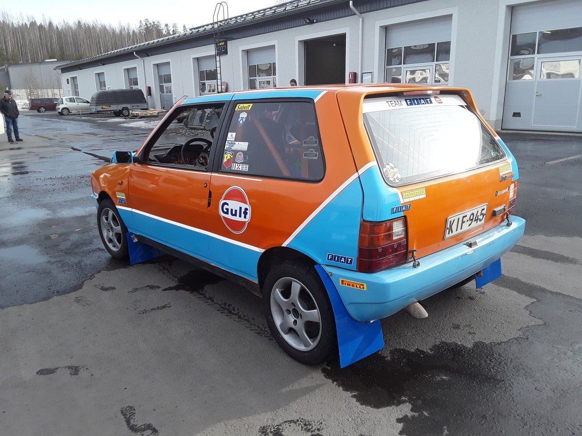 1988 Fiat Uno Turbo Group A Histiric J1 For Sale (picture 4 of 6)
