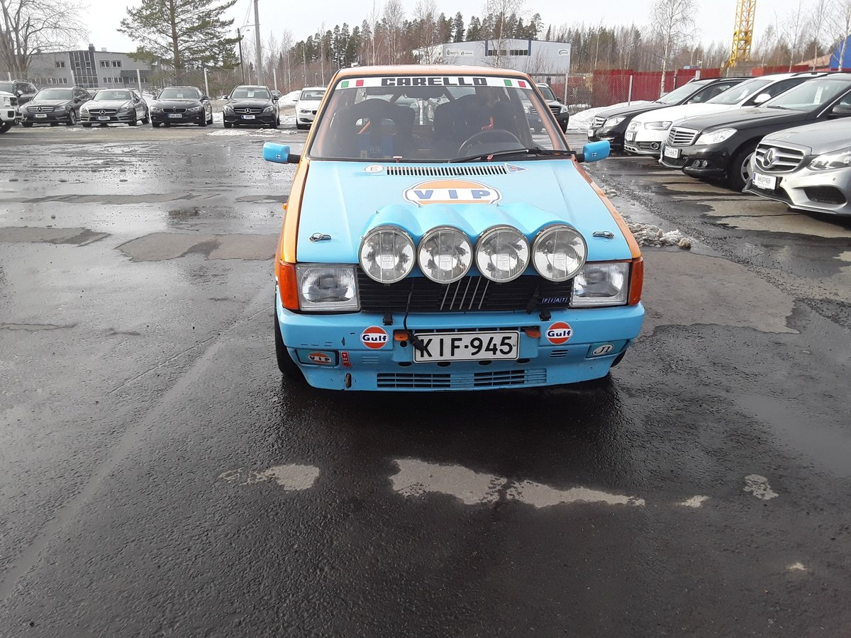 1988 Fiat Uno Turbo Group A Histiric J1 For Sale (picture 5 of 6)