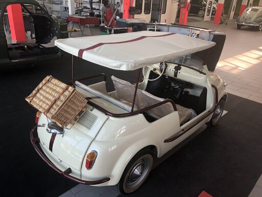 1970 FIAT Spiaggina with elektro Drive For Sale (picture 1 of 6)