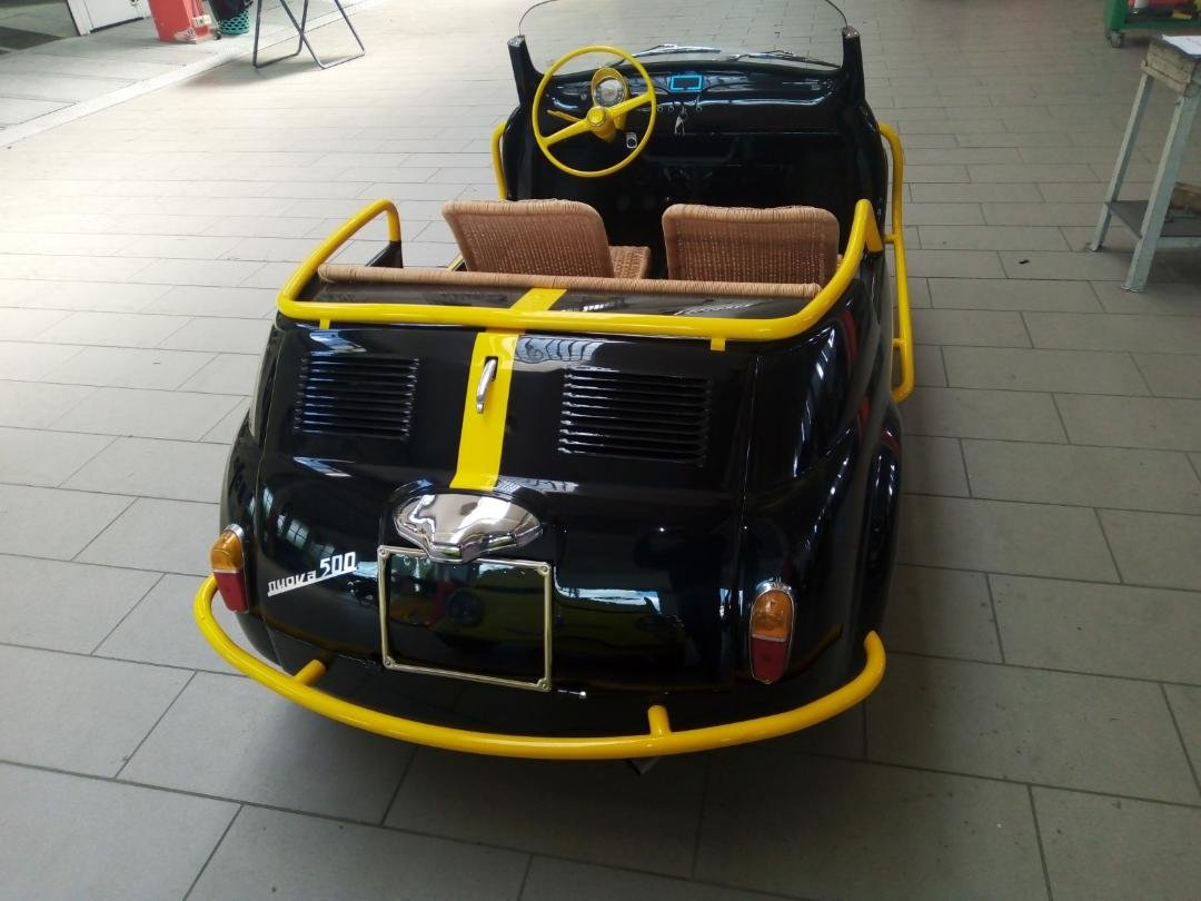 1970 FIAT Spiaggina with elektro Drive For Sale (picture 6 of 6)