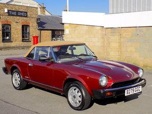 1985 FIAT/PININFARINA 124 SPIDEREUROPA For Sale