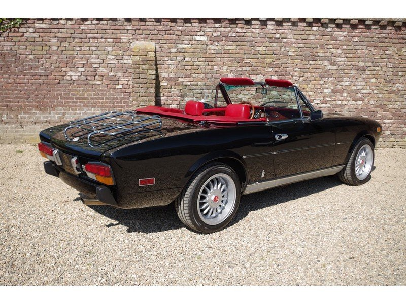 1981 Fiat 124 Spider 2000 Injection Convertible Rare Automatic ge For Sale (picture 2 of 6)