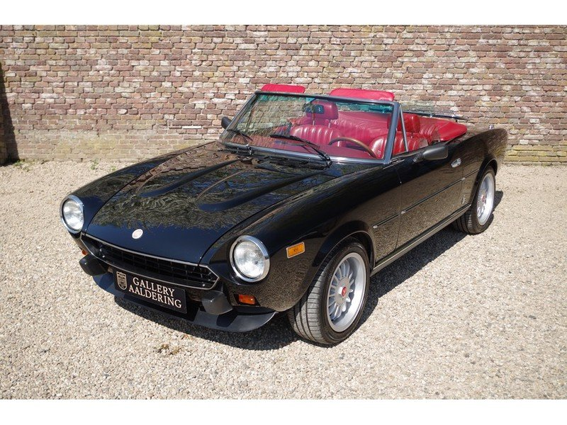 1981 Fiat 124 Spider 2000 Injection Convertible Rare Automatic ge For Sale (picture 5 of 6)