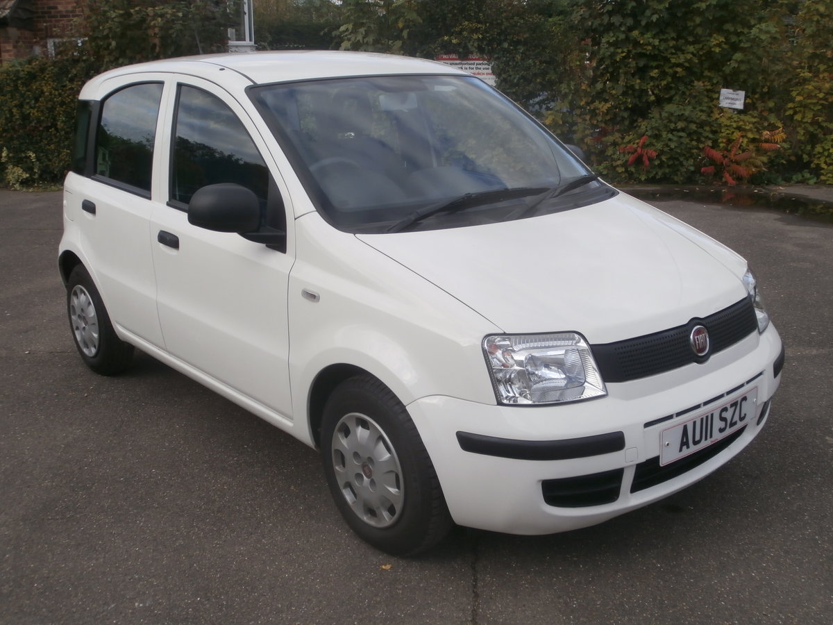 2011 Fiat panda 1.1 active,only 14000 miles,fsh For Sale (picture 2 of 6)