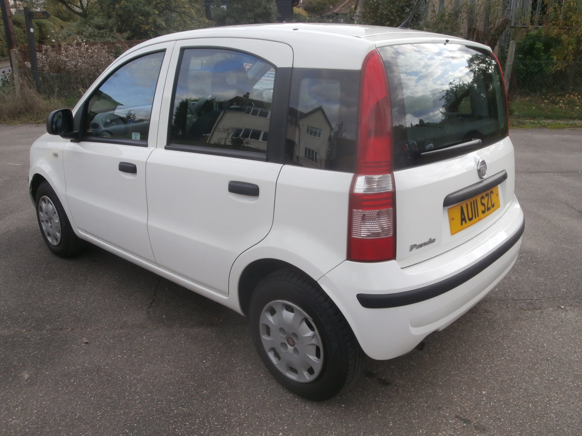2011 Fiat panda 1.1 active,only 14000 miles,fsh For Sale (picture 4 of 6)