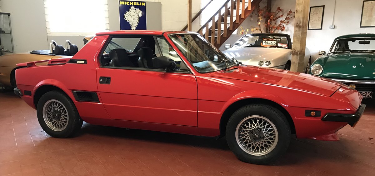 1988 Fiat Bertone X1/9 SOLD (picture 1 of 6)