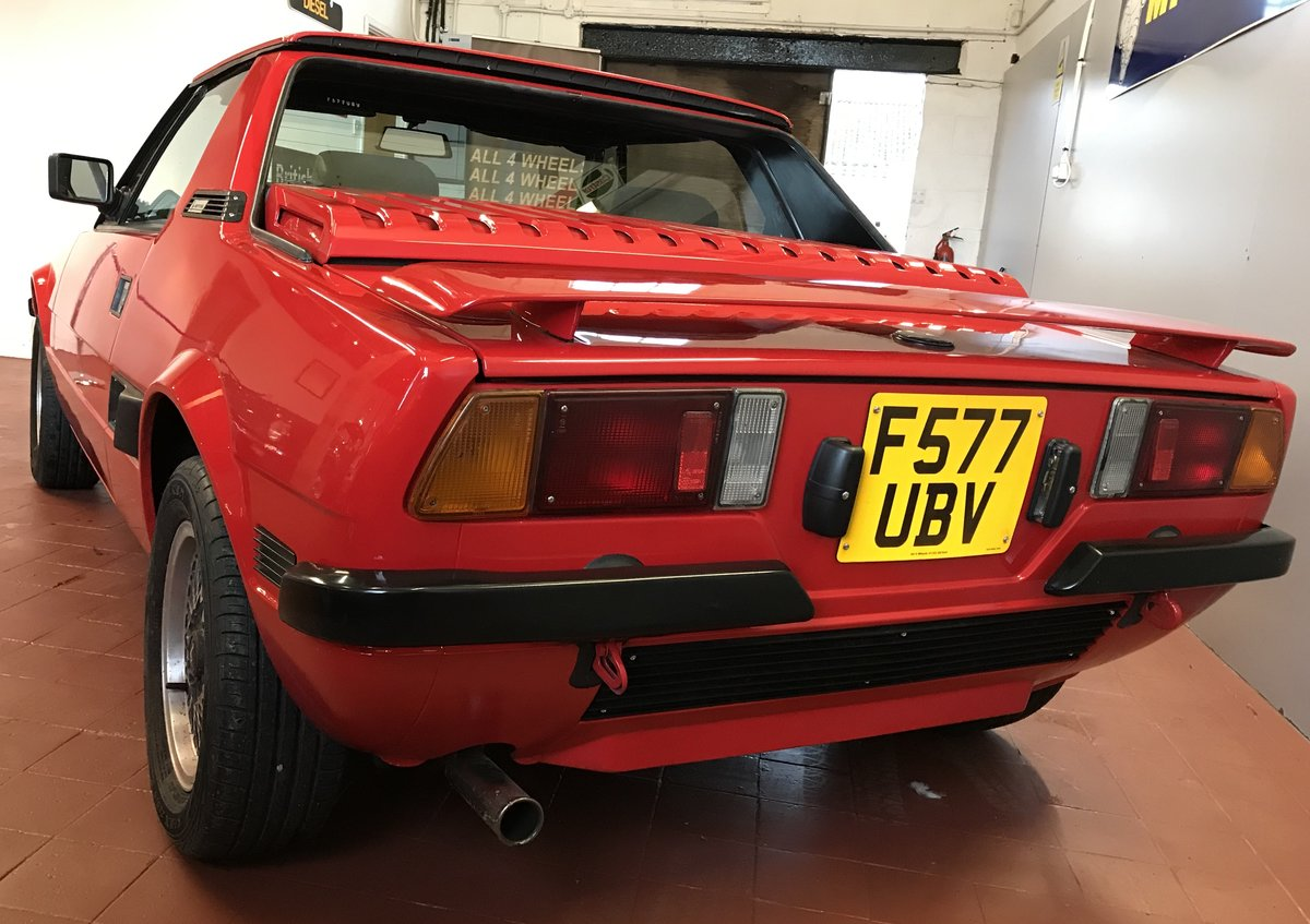 1988 Fiat Bertone X1/9 SOLD (picture 4 of 6)