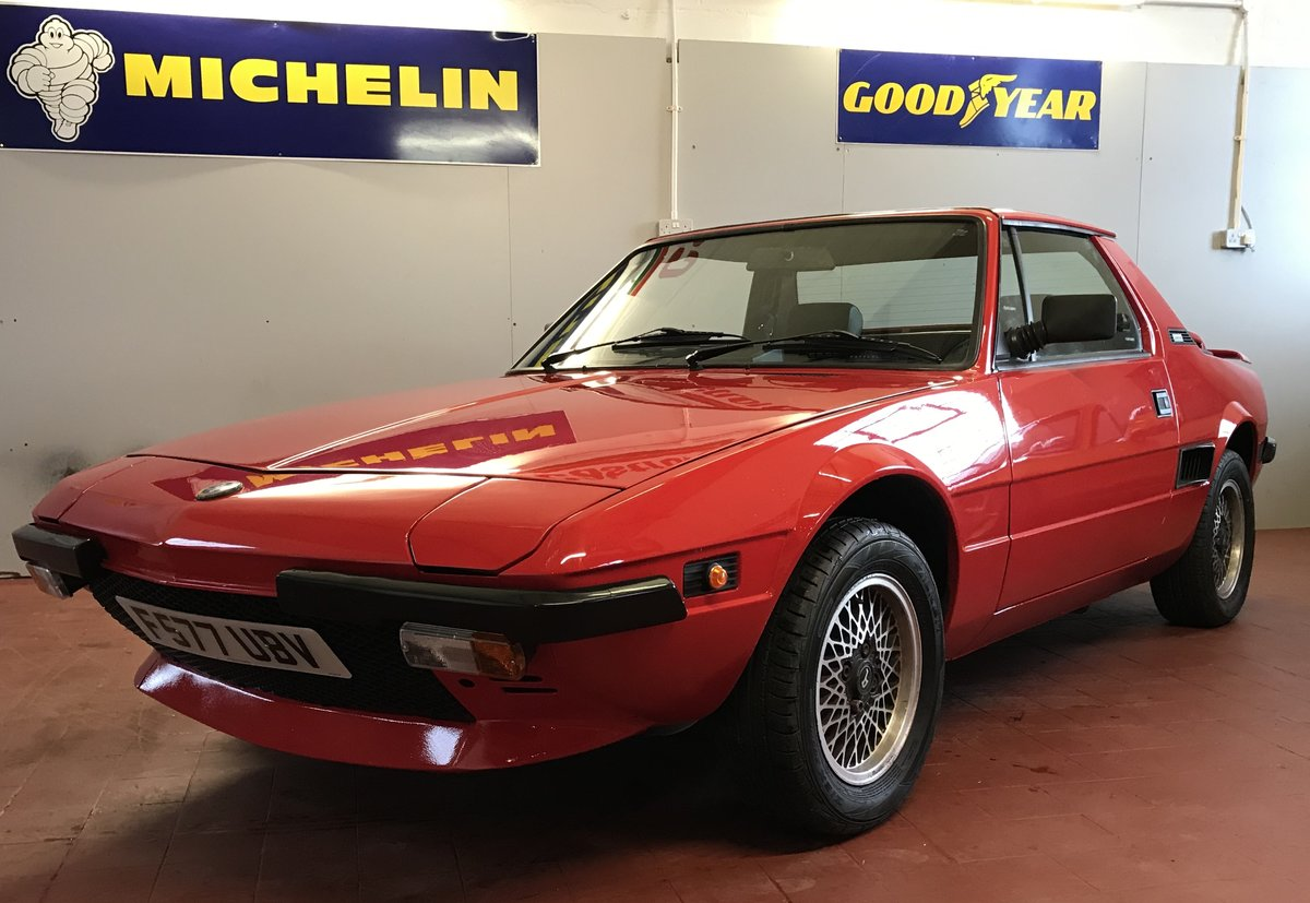 1988 Fiat Bertone X1/9 SOLD (picture 6 of 6)